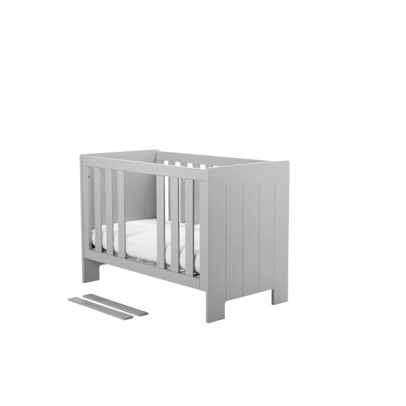beebivoodi Calmo 120x60 cm, voodikast ei kuulu hinna sisse, hall