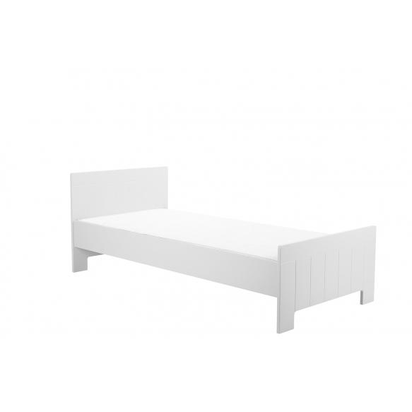 voodi Calmo 200x90 cm, voodikast ei kuulu hinna sisse, valge