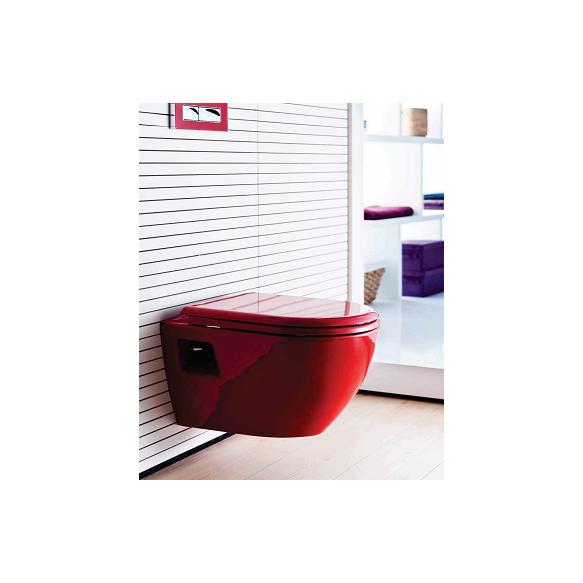 seina WC pott, punane, iste ei kuulu hinna sisse