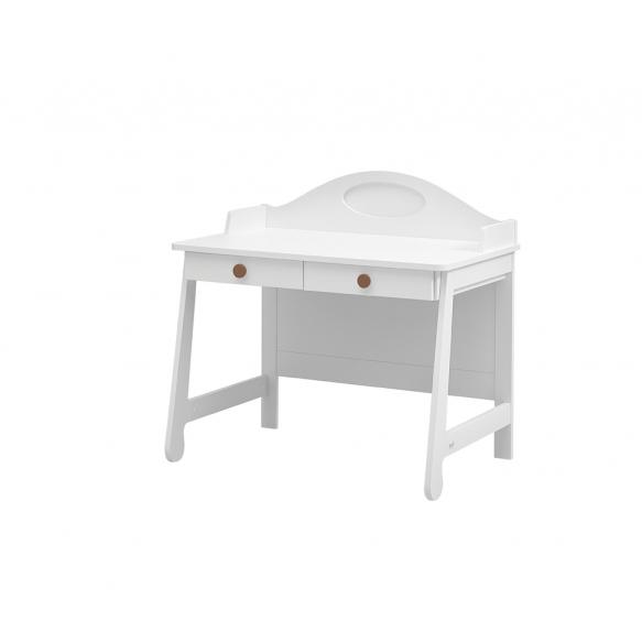 Parole – desk, white+brown