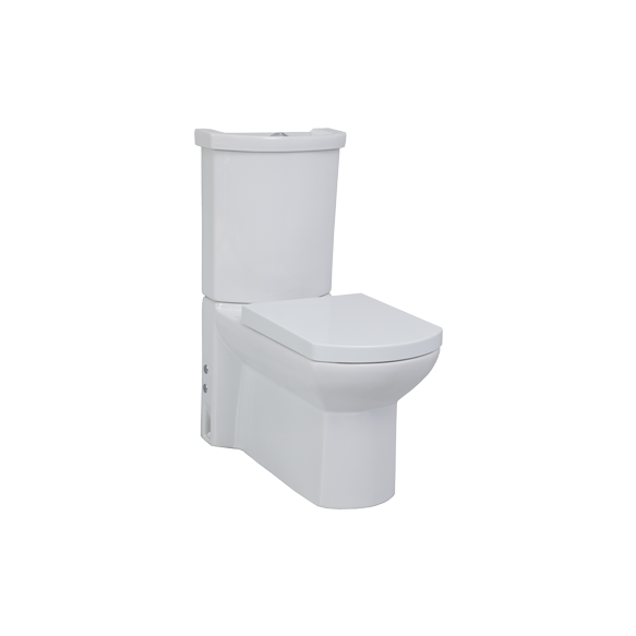 WING toilet set ,without seat, white