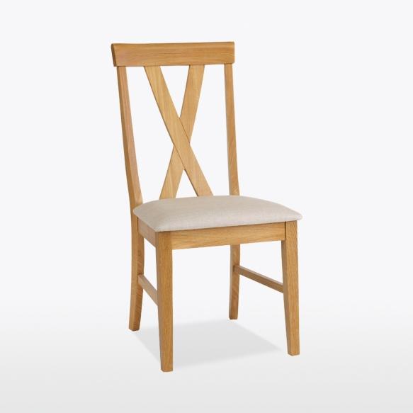 Big Cross Chair (leather)