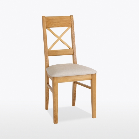 Small Cross chair (leather)