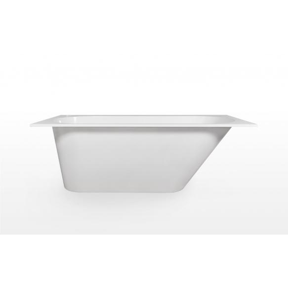 Cast stone bath Beta 170x75 cm, without siphon