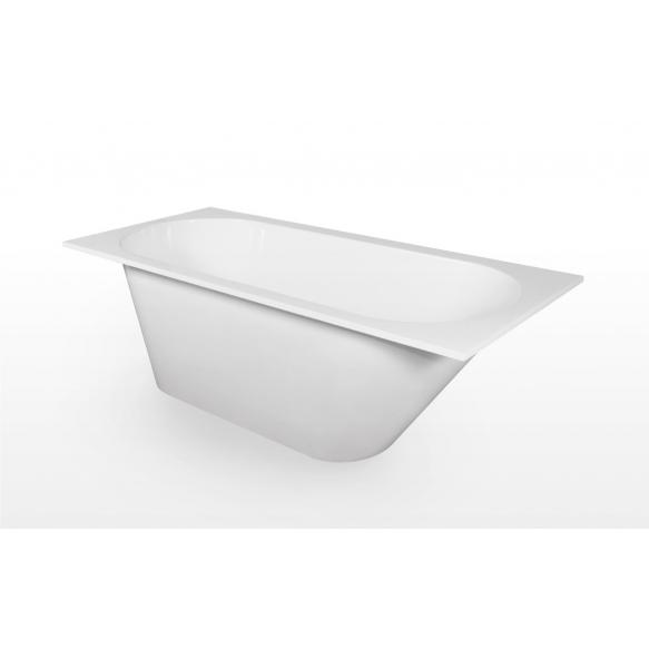 Cast stone bath Beta 150x73 cm, without siphon
