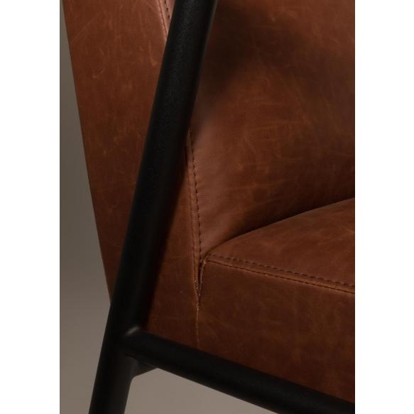 Armchair Fez Vintage Brown