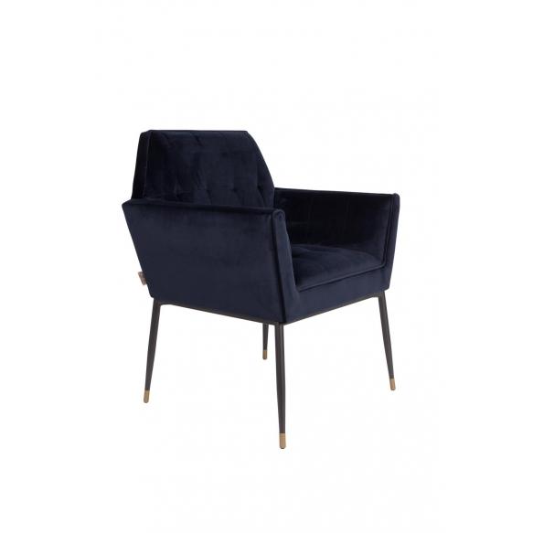 Armchair Kate Deep Blue