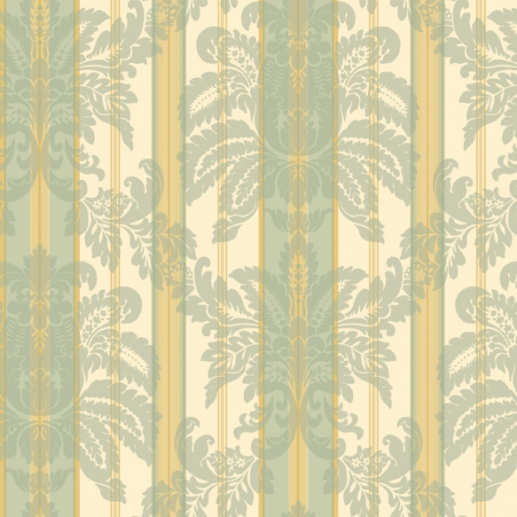 """DAMASK,STRIPE & TOILE LIBRARY BOOK 21"""""""