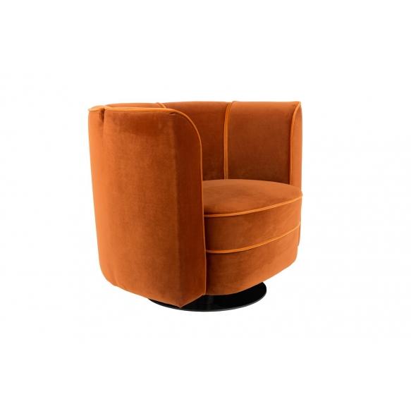 Lounge Chair Flower, orange