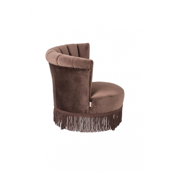 tugitool Chair Flair, tumepruun