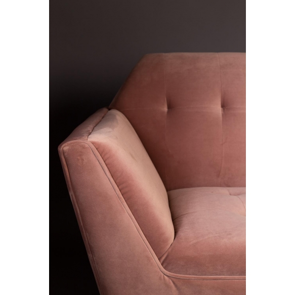 Lounge Chair Kate Pink Clay
