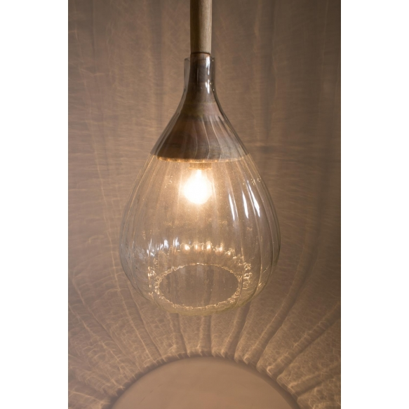 Pendant Lamp Drop Glass