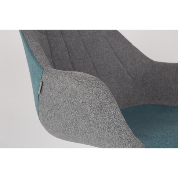 käetugedega tool Doulton, sinine