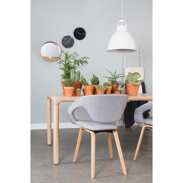 Armchair Flexback Natural/Grey
