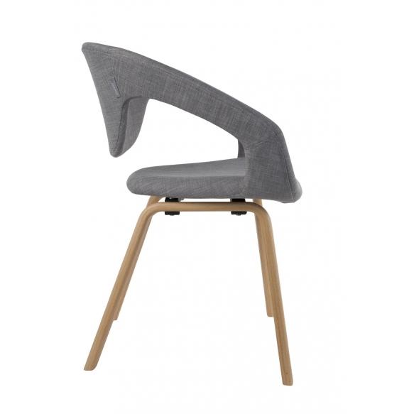 käetugedega tool Flexback, natural/hall
