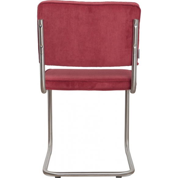 Chair Ridge Brushed Rib Red 21A