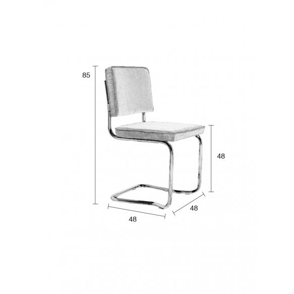 Chair Ridge Kink Rib Grey 6A