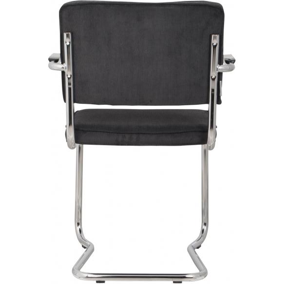 käetugedega tool Ridge Kink Rib, must 7A
