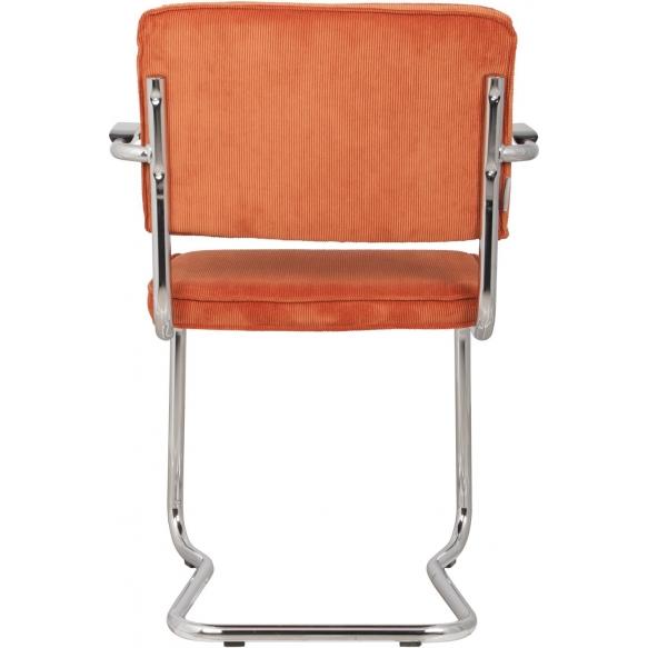 Armchair Ridge Kink Rib Orange 19A