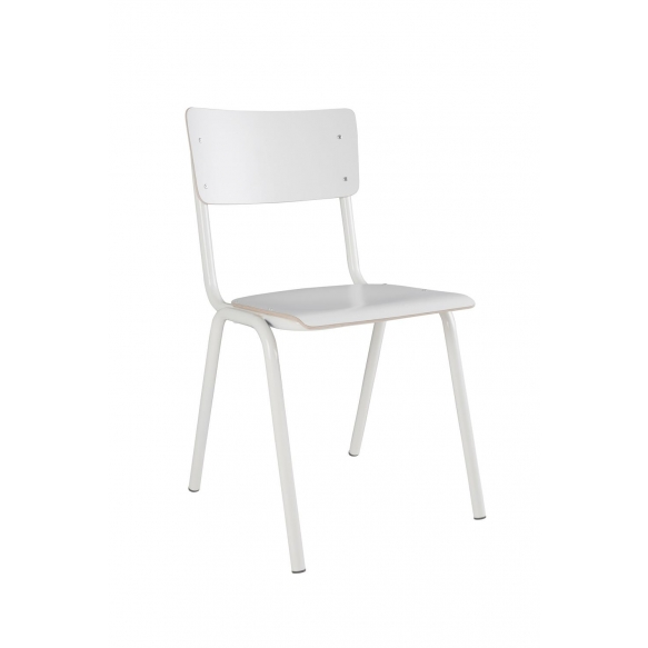 Chair Back To School Hpl White