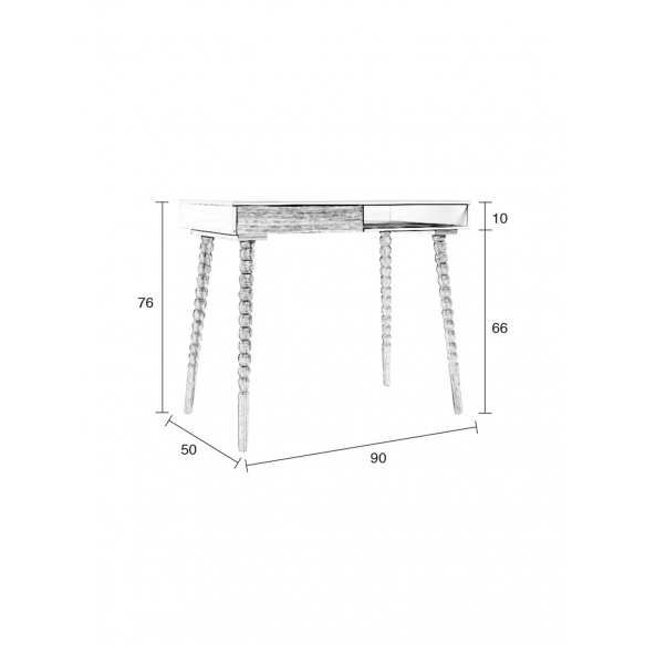 Desk Table Twisted