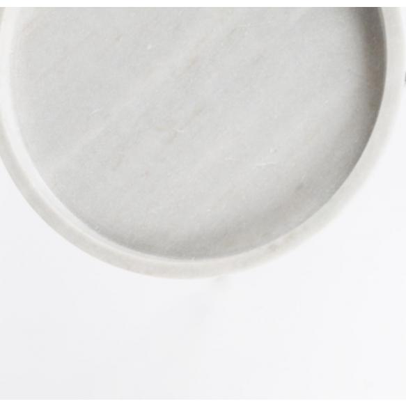 Side Table Karrara White