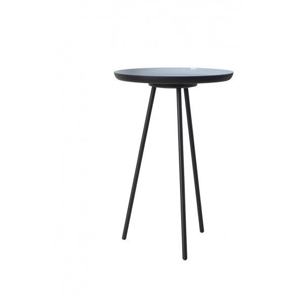 Side Table Enamel Set Of 3. Height: S 29 cm, M 40 cm,  L 45 cm