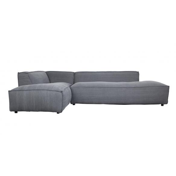Sofa Fat Freddy Left Stone Grey 67