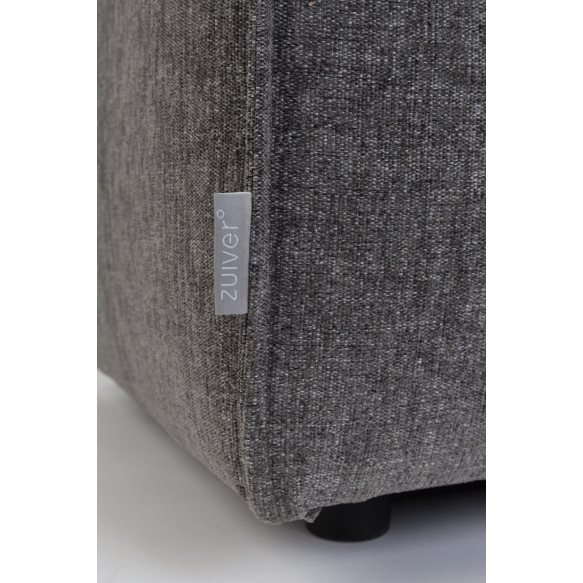 Hocker King Dark Grey