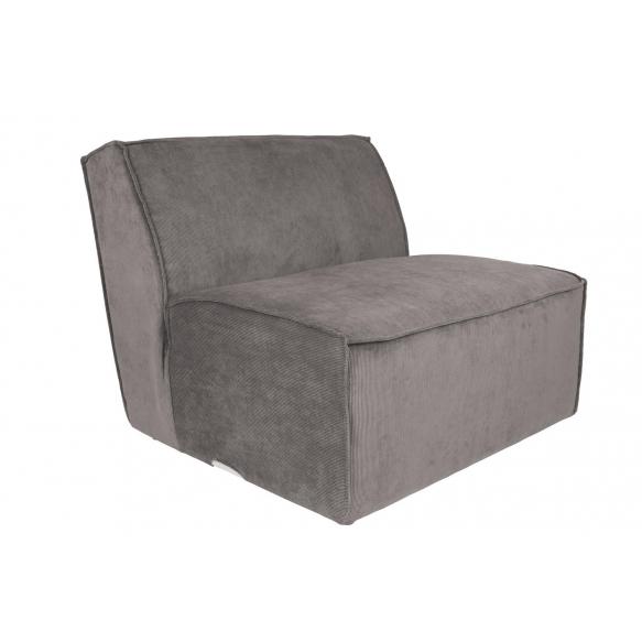 Element Sofa James Rib Grey