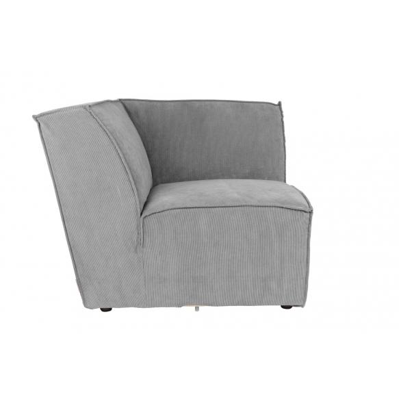 Element Sofa James Corner Rib Cool Grey