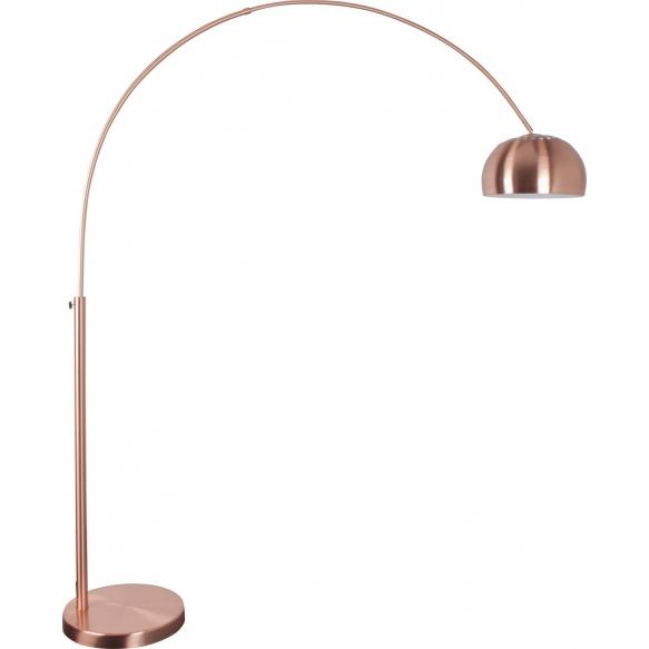 Floor Lamp Metal Bow Copper