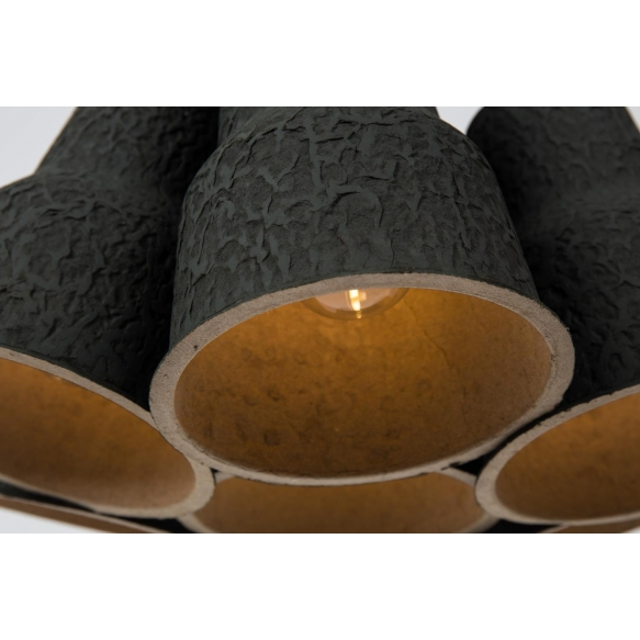 Pendant Lamp Pulp Shades Black