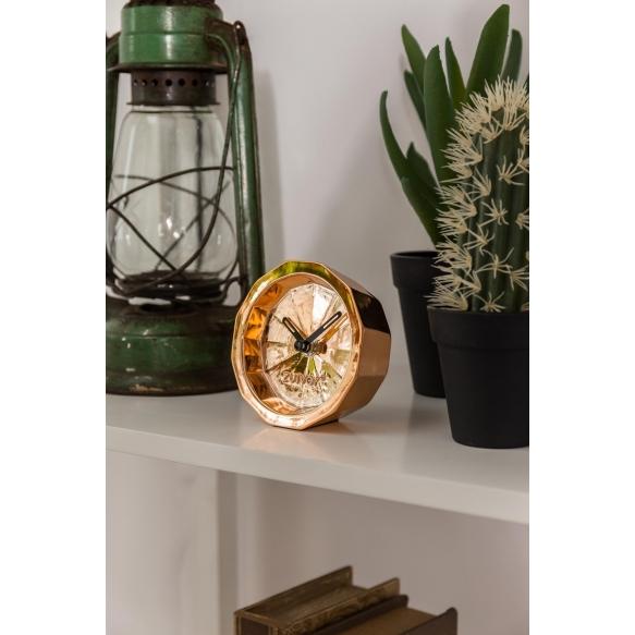 Clock Bink Time Copper