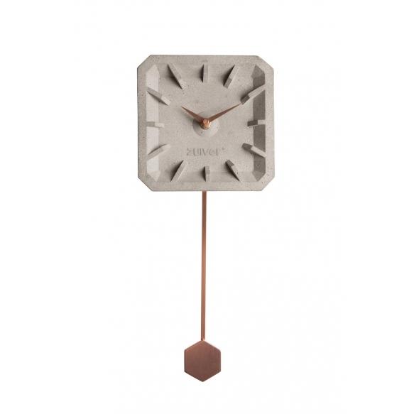 Clock Tiktak Time Copper