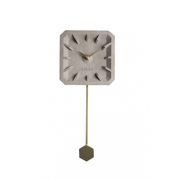 Clock Tiktak Time Brass