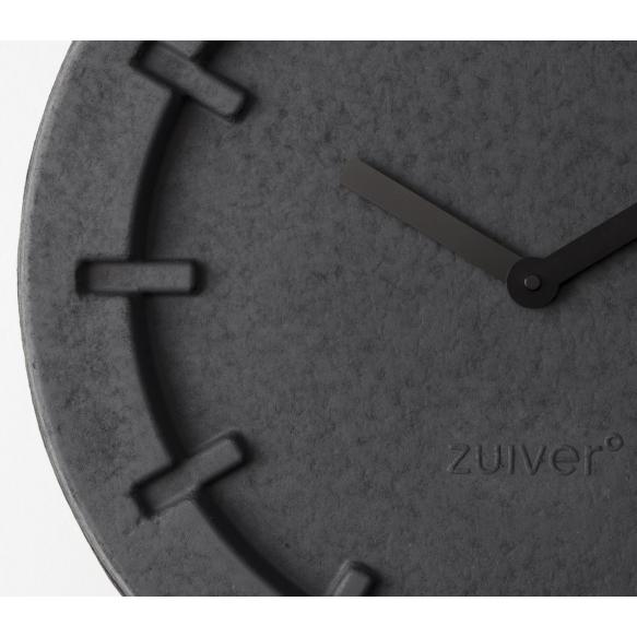 Clock Pulp Time Round Black