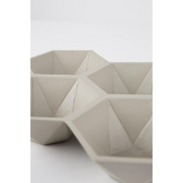 Tray Hexagon Sand