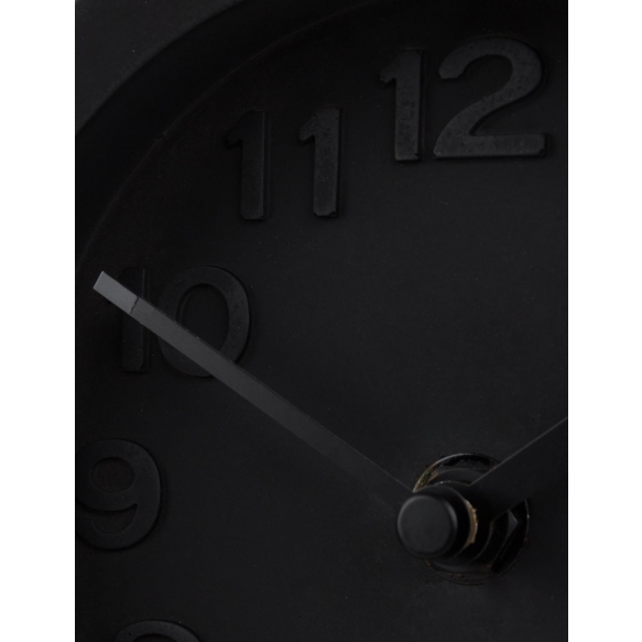 Clock Pendulum Time All Black