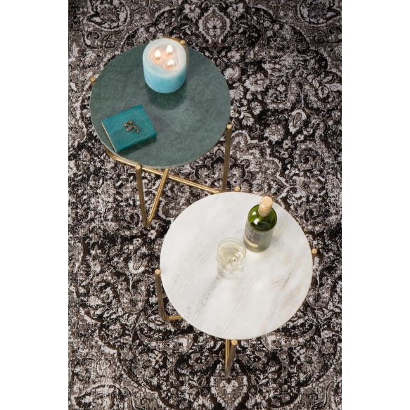 Side Table Timpa Marble White