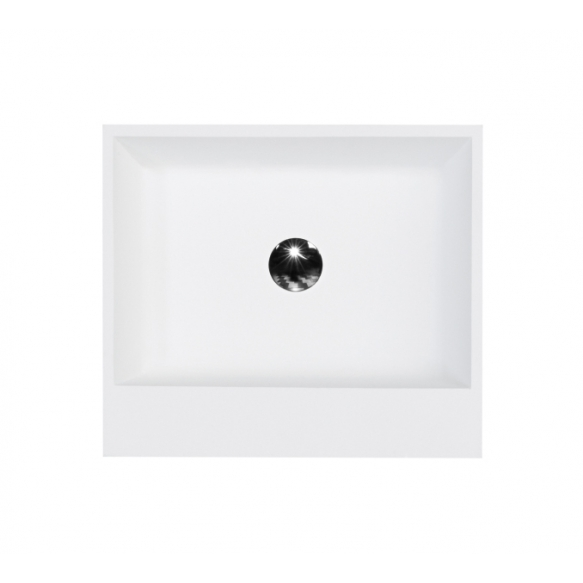 cast stone basin Verona, no overflow, with our without overflow hole