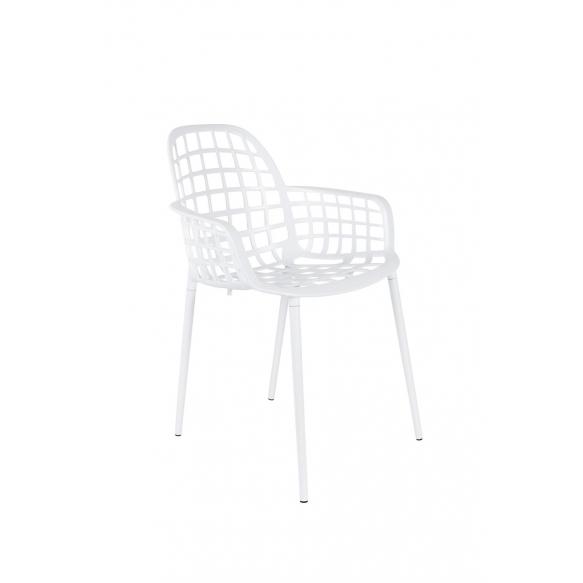 käetugedega tool Albert Kuip Garden, valge