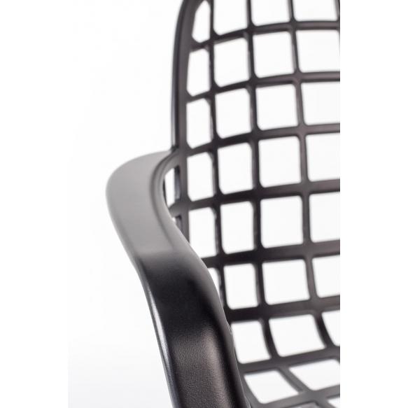 käetugedega tool Albert Kuip Garden, must