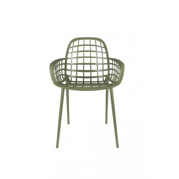 käetugedega tool Albert Kuip Garden, roheline