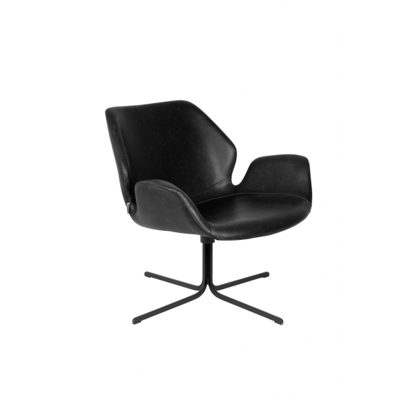 Lounge Chair Nikki All Black
