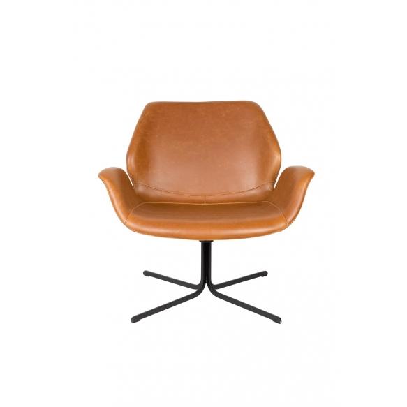 Lounge Chair Nikki All Brown