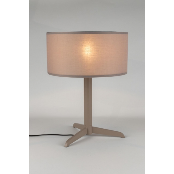 Table Lamp Shelby Taupe