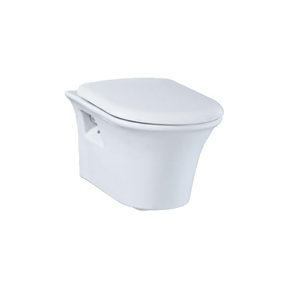 seina WC pott , valge, MOON, ilma istmeta