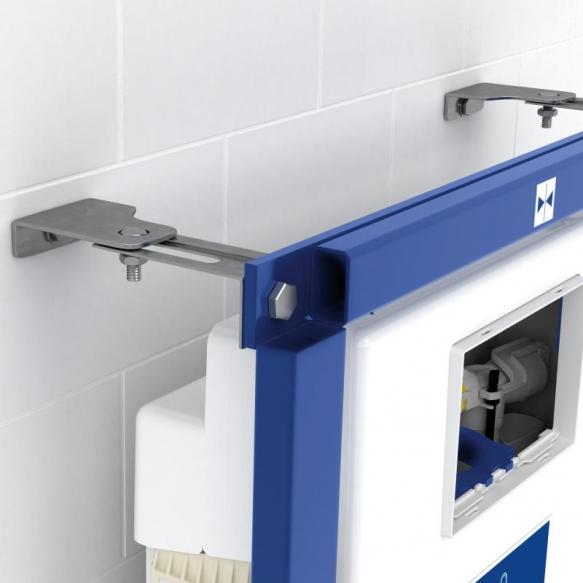 komplekt seina wc Omnia Architectura 5684R, soft close iste 98M9C101, Villeroy&Boch wc raam 92246100, kroom loputusnupp 92249061