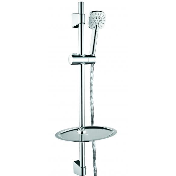 dušikomplekt Interia Taurus, dušivoolik 150 cm, käsidušš 3-funktsiooniga